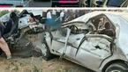مرگ مرد 70 ساله در تصادف زنجیره ای سنندج / مینی بوس با 3 خودرو