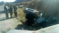 عجیب ترین عکس ها از یک تصادف در درگز / هیچ کس کشته نشد