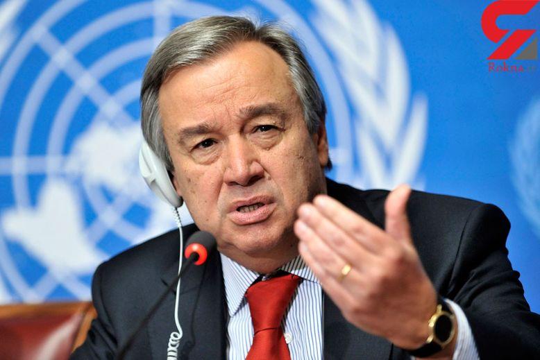 درخواست دبیرکل سازمان ملل متحد از اعضای شورای امنیت در پی حمله موشکی به سوریه