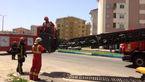 نجات کارگر جوان در مسکن مهر رشت + فیلم