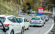 یکطرفه شدن جاده چالوس در روز عید غدیر