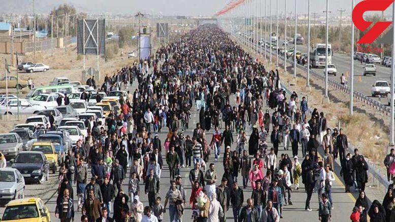 آخرین وضعیت مرز مهران/ جمعیت زائران در مرز ۳ برابر شد