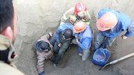 سقوط کارگر تهرانی به مخزن مخلوط کن مصالح ساختمانی + عکس