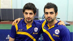 دو برادر تاریخ ساز ملی پوشان ایران در قلب اروپا