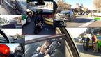 لحظه به لحظه تعقیب و گریز پلیسی و شلیک گلوله در خیابان های محدوده بازار تهران+عکس