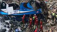 برخورد وحشتناک کامیون با اتوبوس فاجعه ای مرگبار در بولیوی رقم زد+ عکس