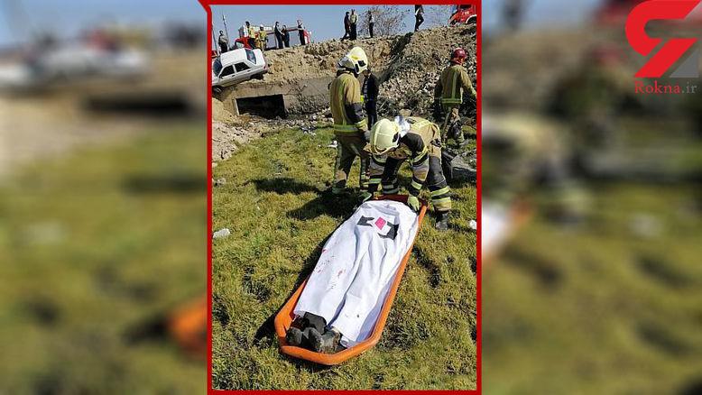 مرگ تلخ عابر پیاده در کرج