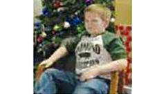 رویایی زیبای کودک سرطانی در آستانه کریسمس به واقعیت تبدیل شد+عکس