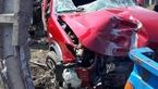 5 قربانی در تصادف شدید 206 + عکس