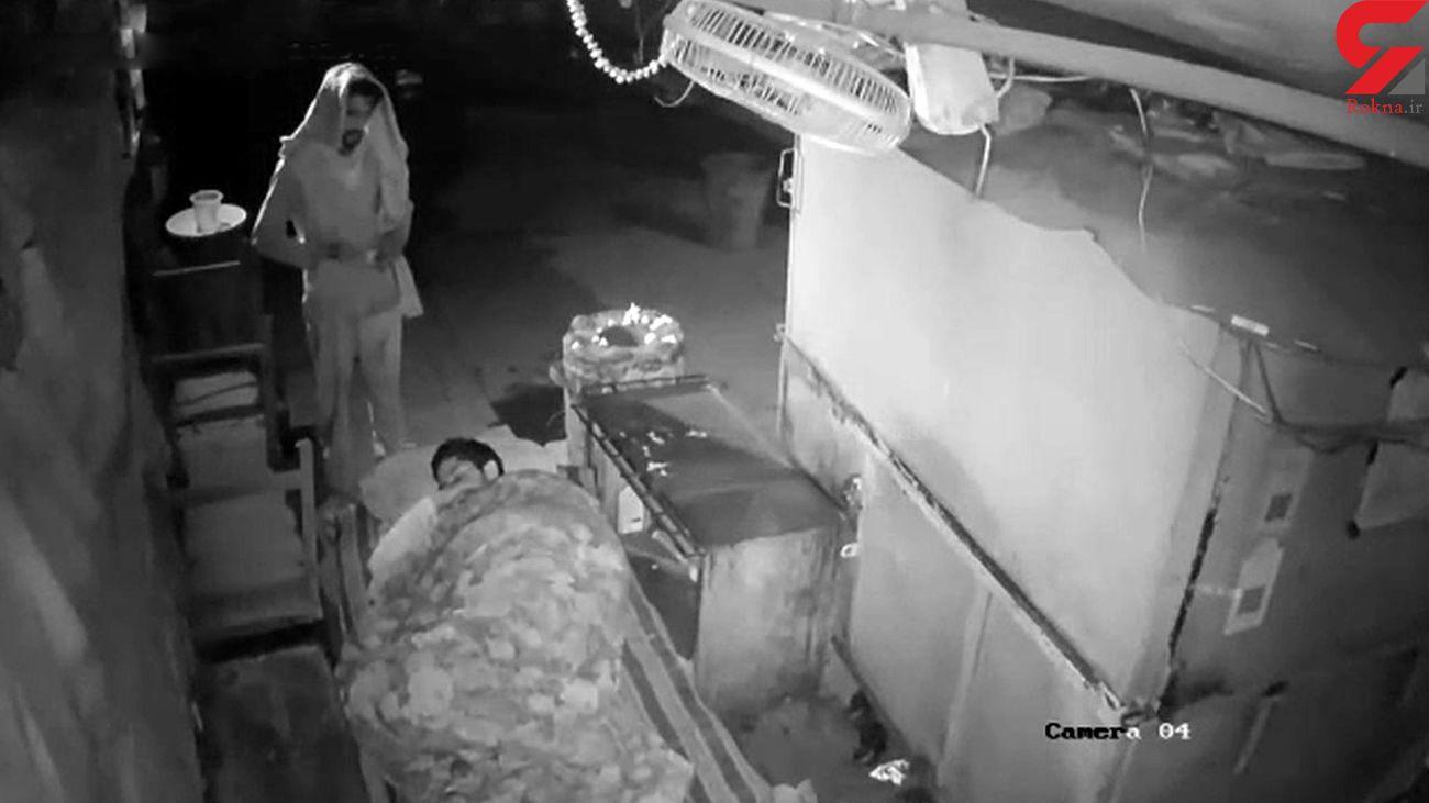 نجات جان نگهبان شیفت شب توسط یک کارتن خواب + فیلم