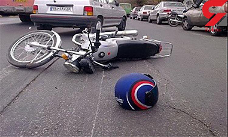 مرگ تلخ موتورسوار در اثر بی احتیاطی / در زنجان رخ داد