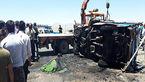 یک کشته در واژگونی آتشین خودرو