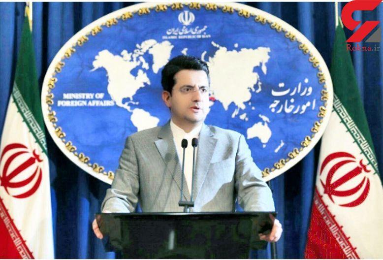 توضیح سخنگوی وزارت خارجه در مورد رایزنی اخیر ظریف با یک سناتور آمریکایی