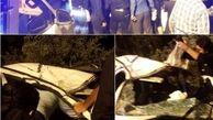 4 کشته و زخمی در واژگونی پژو در بندرترکمن + عکس