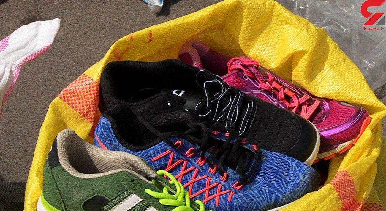 کشف 236 جفت کفش قاچاق در پژو پارس