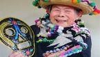 پیرترین مانکن اینستاگرامی/مادربزرگ 93 رکورد شاخ های اینستاگرامی را شکست+عکس