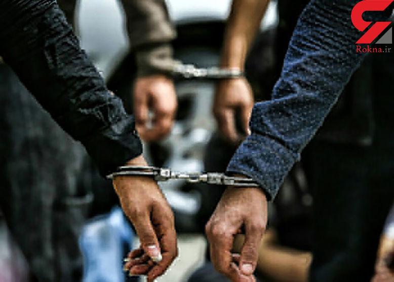 سارق جوان در ماسال دستگیر شد