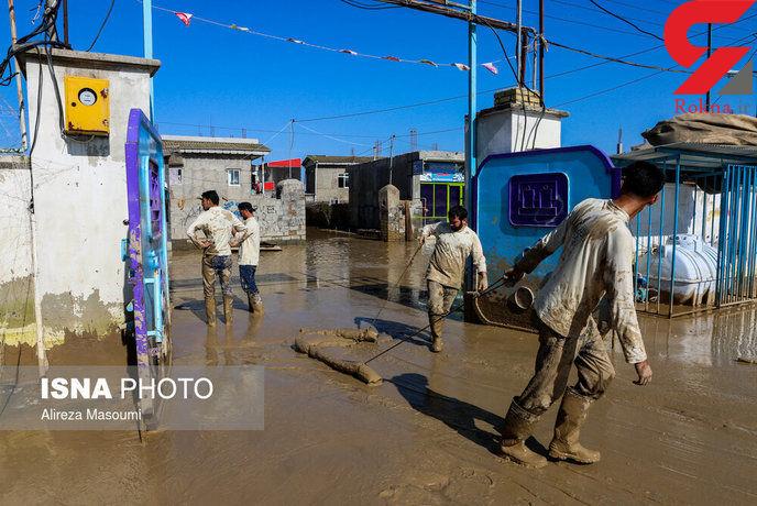 وضعیت سخت مردم آققلا و گمیشان پس از ۲۶ روز