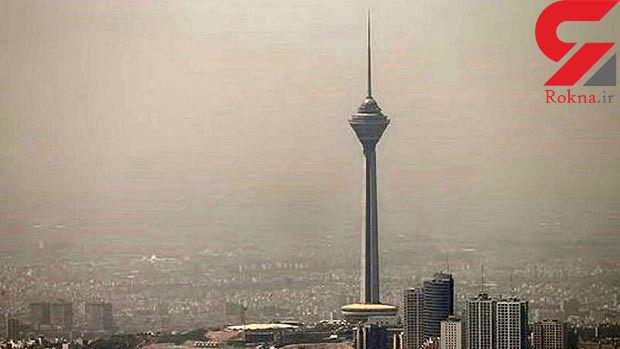 هوای تهران ناسالم برای گروههای حساس است