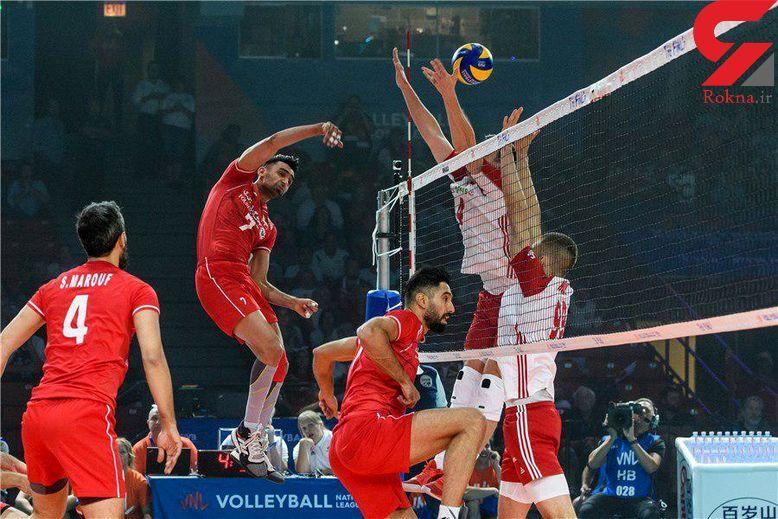 ایران 1 – لهستان 3 / گزارش لحظه به لحظه این بازی والیبال در شیکاگو