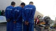 دستگیری سارقان حرفه ای خانه های جنوب تهران / شناسایی 18 مالباخته