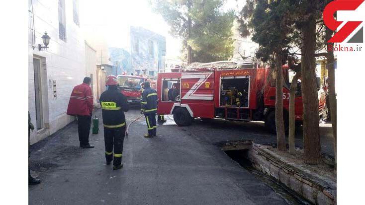 زن سمنانی زنده زنده در آتش خانه اش سوخت