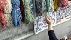 پرداخت تسهیلات به بافندگان فرش دستباف