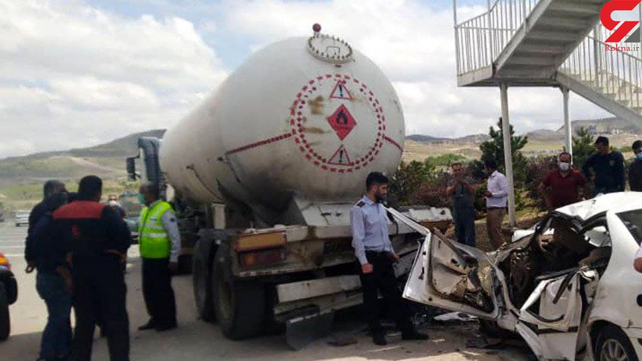 فیلم تصادف مرگبار در اتوبان شهیدکسایی تبریز