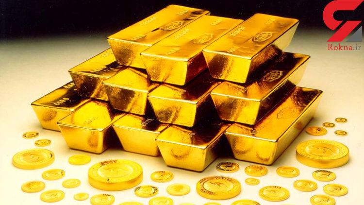 قیمت جهانی طلا کمی بالا رفت (۹۸/۰۷/۱۵)