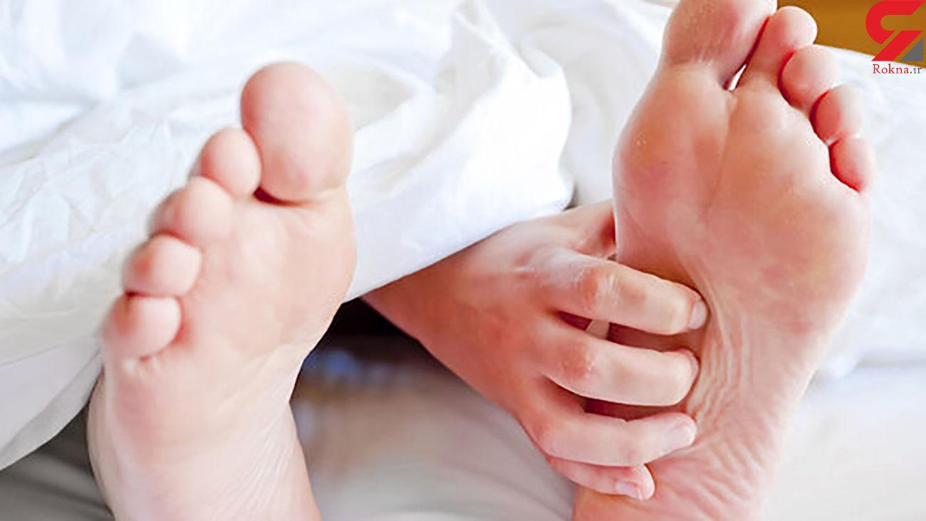 بررسی دلایل پا درد در شب ها