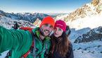 ثبت لحظه های ناب عاشقی در نوک بلندترین قله های جهان+عکس