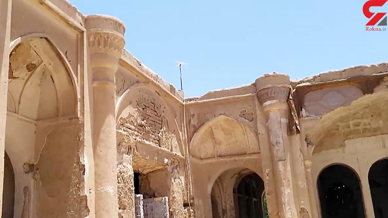 بنای عهد قاجار در اختیار آباد مرمت می شود