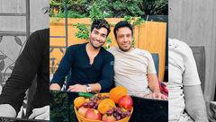 خوشگذرانی محسن چاوشی با خواننده خارجنشین +عکس