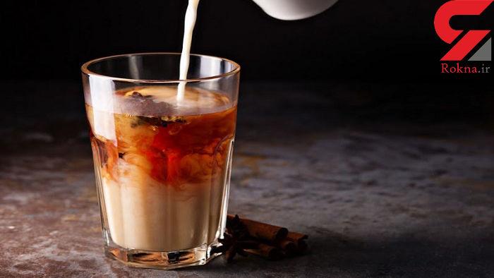 فواید ترکیب شیر و چای