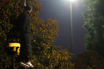 گزارش اعدام قاتل شهید پاینده در پارک دانشجوی رشت