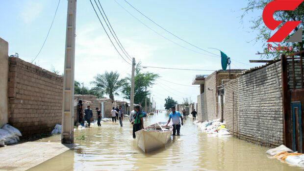 سیل 600 خانه بهداشت را نابود کرد
