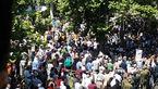 تجمع سپرده گذاران کاسپین روبروی بانک مرکزی در میرداماد + عکس