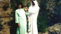 شوخی احمقانه صدام با همسرش + عکس