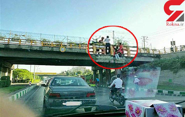 این بار پل استقلال مشهد و اقدام به مرگ خود خواسته زن 36 ساله+عکس