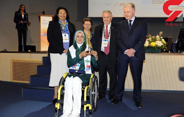 نعمتی، زن ایرانی که پیامش را در المپیک رساند