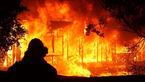 انبار ابر مبل در مهاباد آتش گرفت
