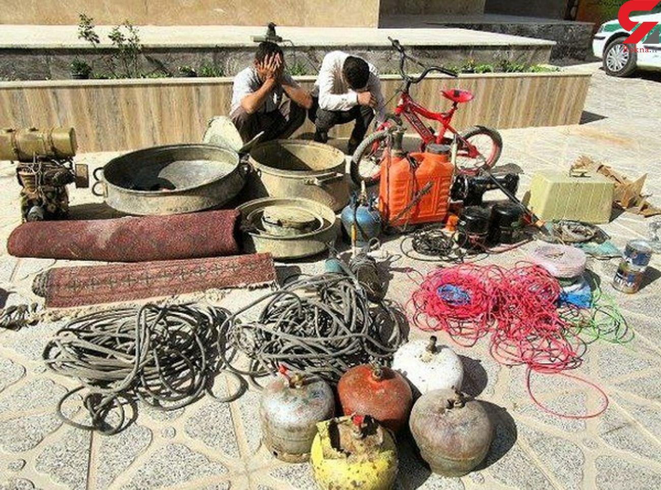 دستگیری سارقان منازل در شهرستان خواف/اعتراف متهمان به ده فقره سرقت