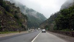 تردد کامیون و کامیونت در جاده هراز ممنوع