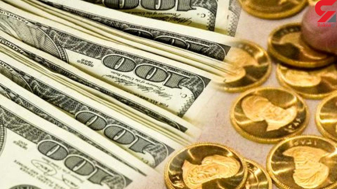 قیمت ارز و سکه با سرعت به سمت ریزش