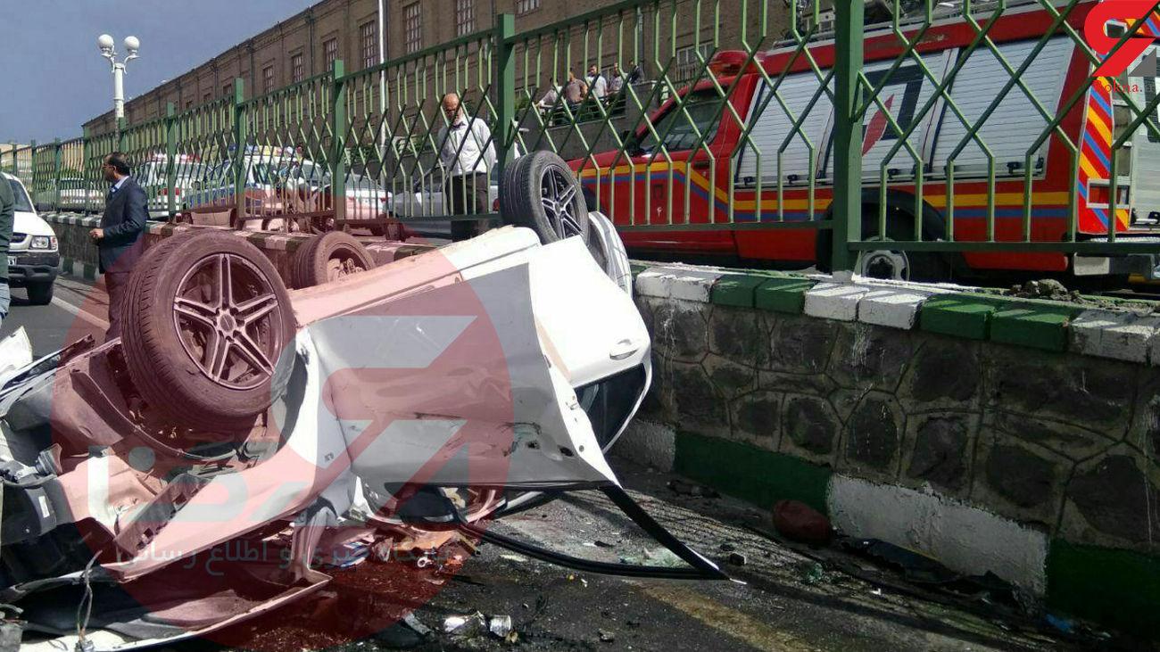 تصادف مرگبار خواننده مشهور پاپ در تبریز + عکس حادثه