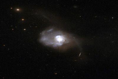 کشف اکسیژن در یک کهکشان خارج از منظومه شمسی
