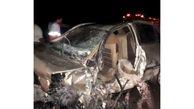 تصادف مرگبار در جاده دیلم / 2 تن در دم جان باختند