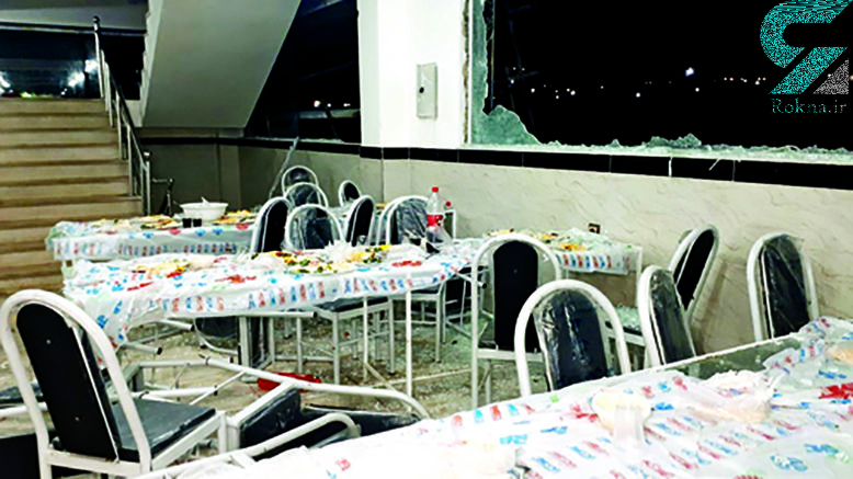 کابوس های شبانه عروس خانم 45 روز بعد از فاجعه انفجار تالار