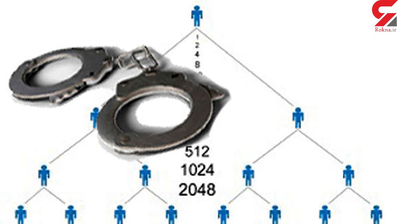 انهدام باند کلاهبرداری شرکت های هرمی در عباس آباد
