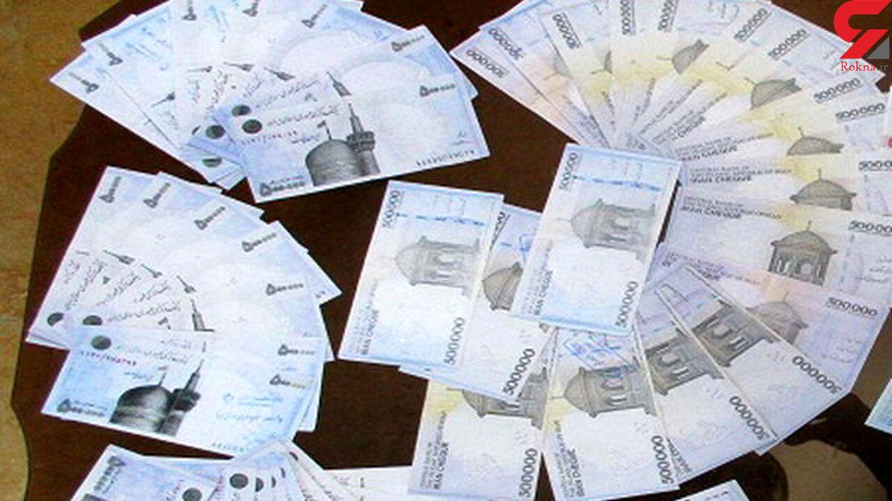 کشف چک پول های تقلبی در ممسنی